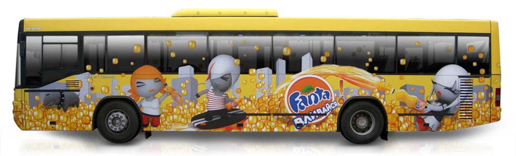 Реклама на общественном транспорте